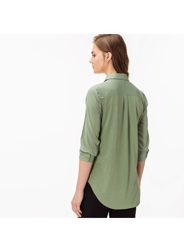 Lacoste Uzun Kollu Gömlek Yeşil